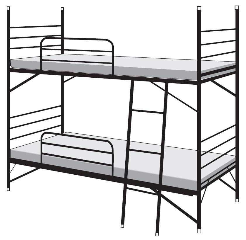 ベッド 2段