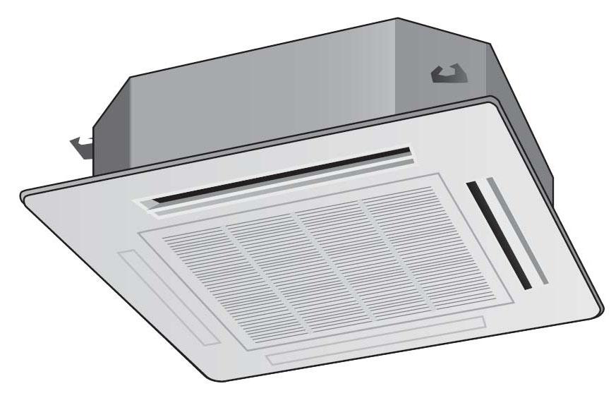 天井カセット型エアコン